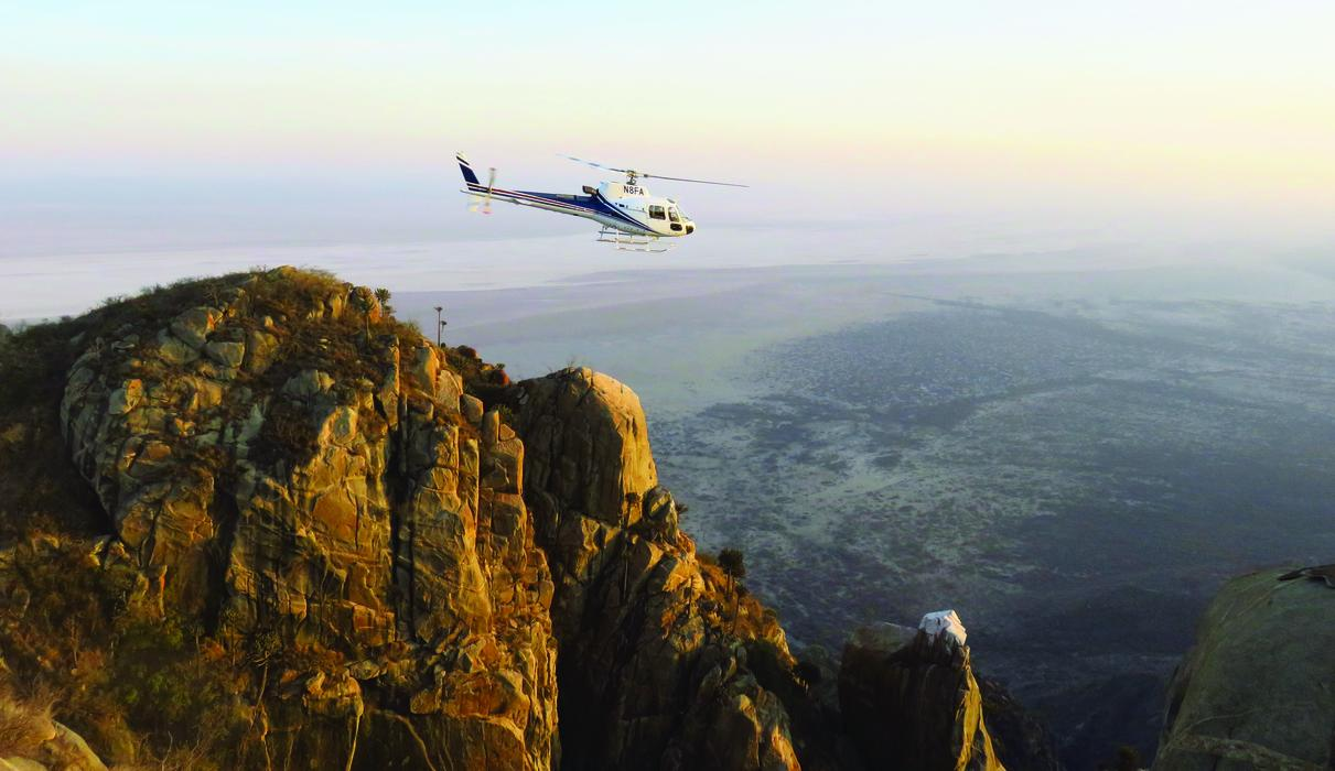 Incredible helicopter excursions