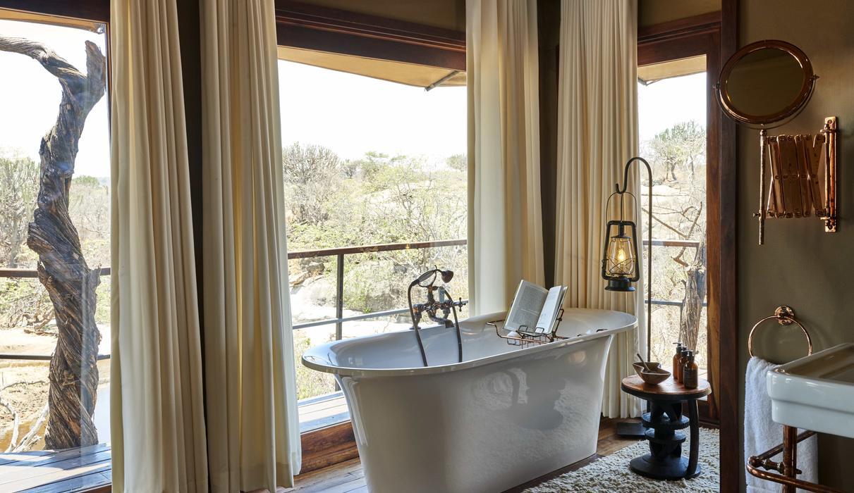 Oversized bathtubs