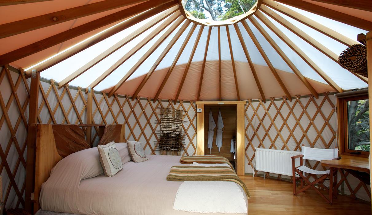 Patagonia Camp Deluxe Yurt