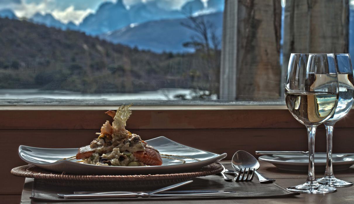 Patagonia Camp local cuisine