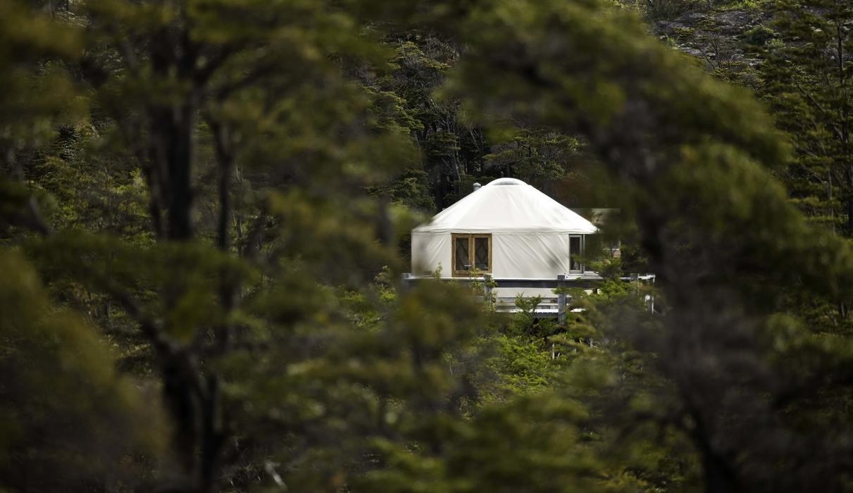 Patagonia Camp Yurt in Torres del Paine