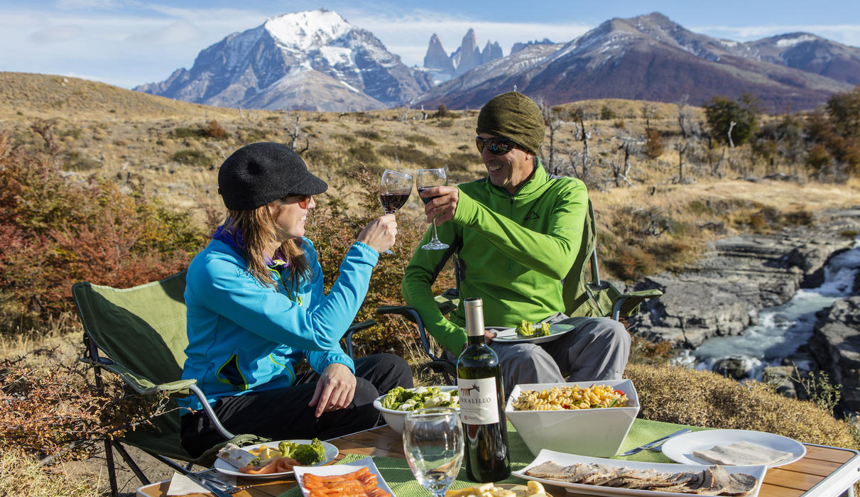Patagonia Camp pic-nic lunch in Torres del Paine