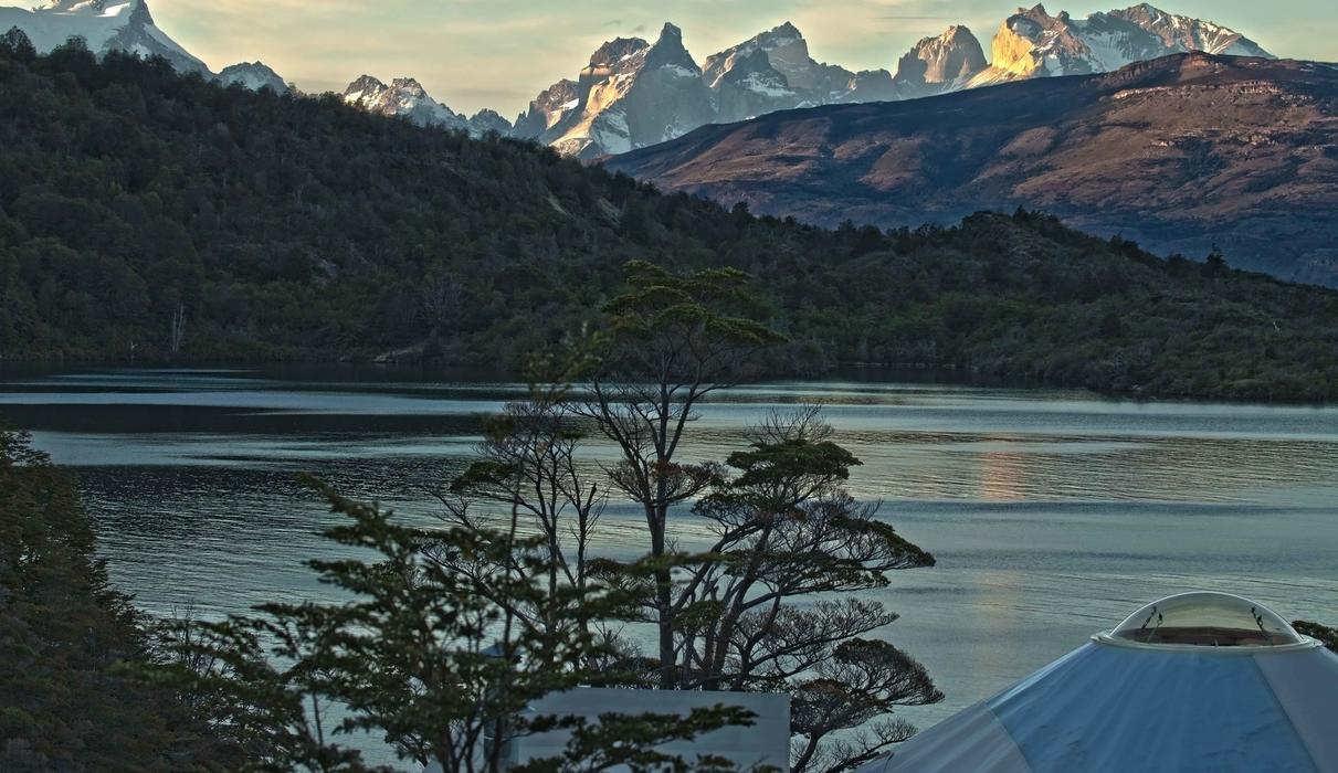 Morning view in Patagonia Camp