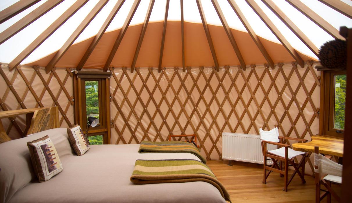Patagonia Camp bedroom Suite Yurt