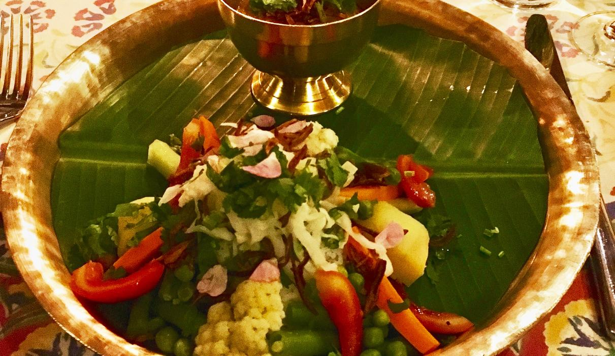 Gado Gado - our variation with local ingredients