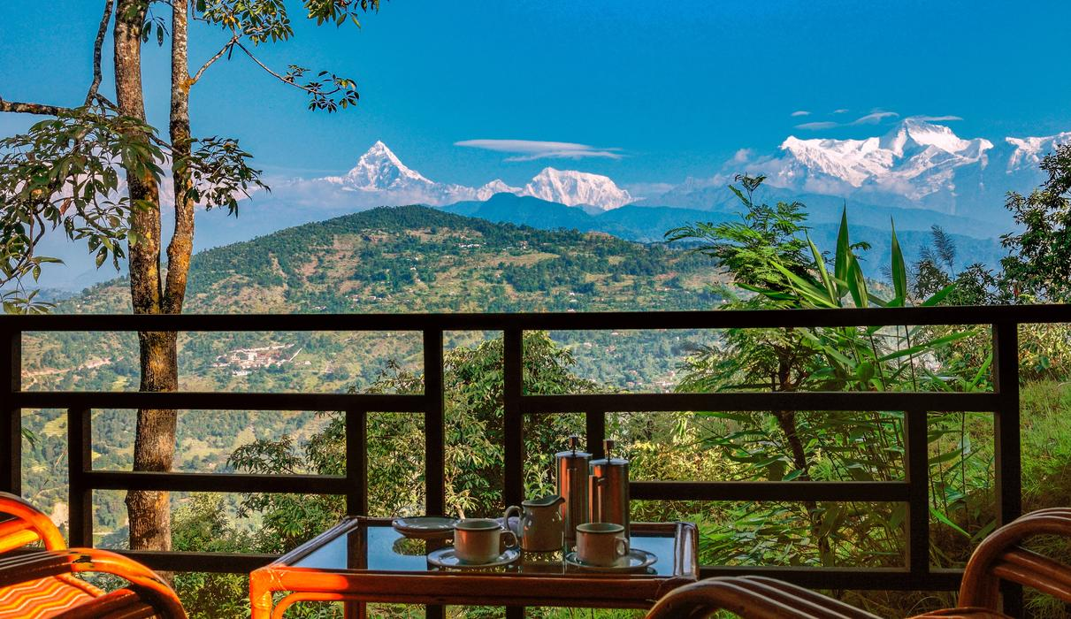 Mountain views from every room