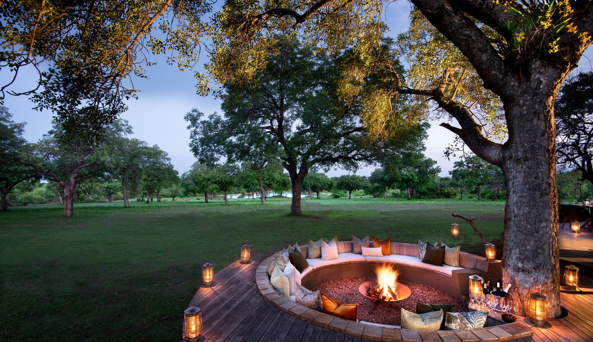 Enjoy a drink under the stars with a view
