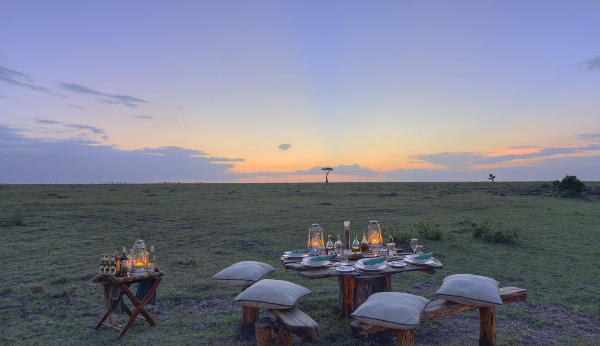 Romance in the Masai Mara