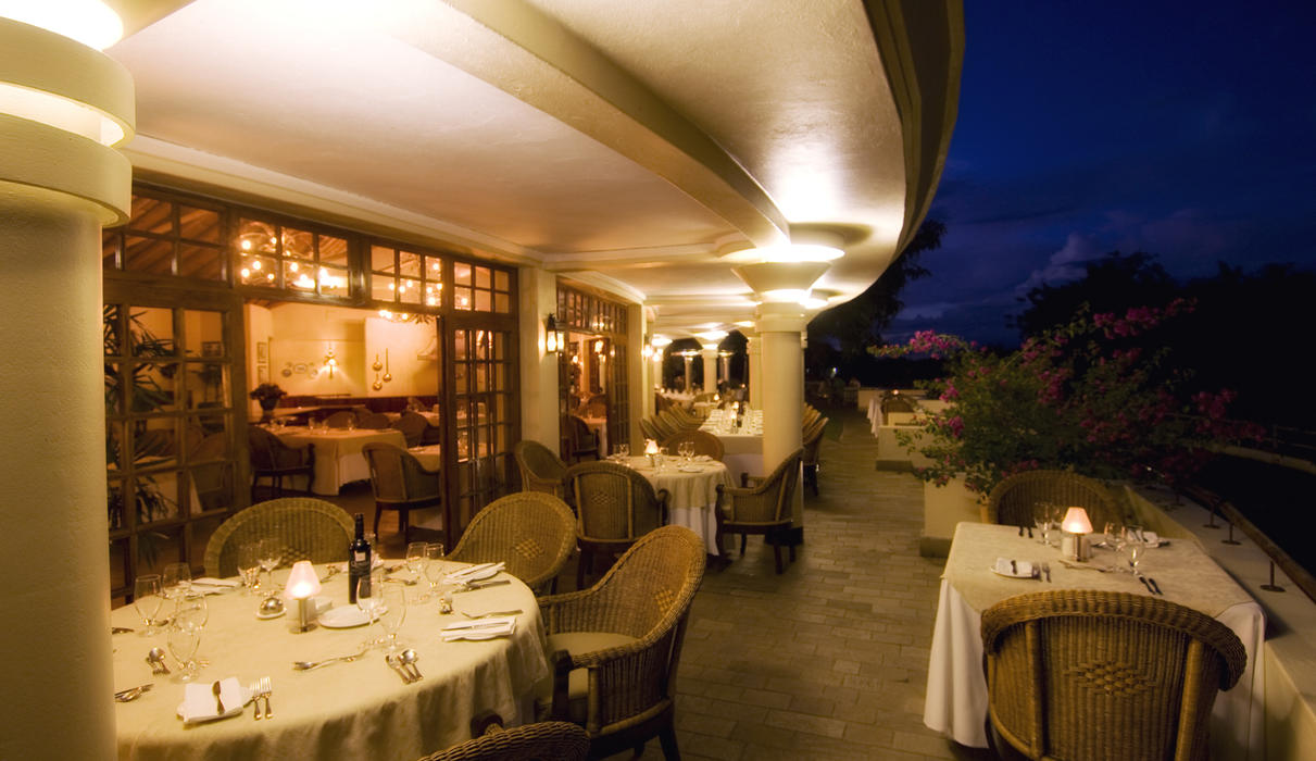 The Palm Restaurant evening lay up - fine dining 4 * Alacarte