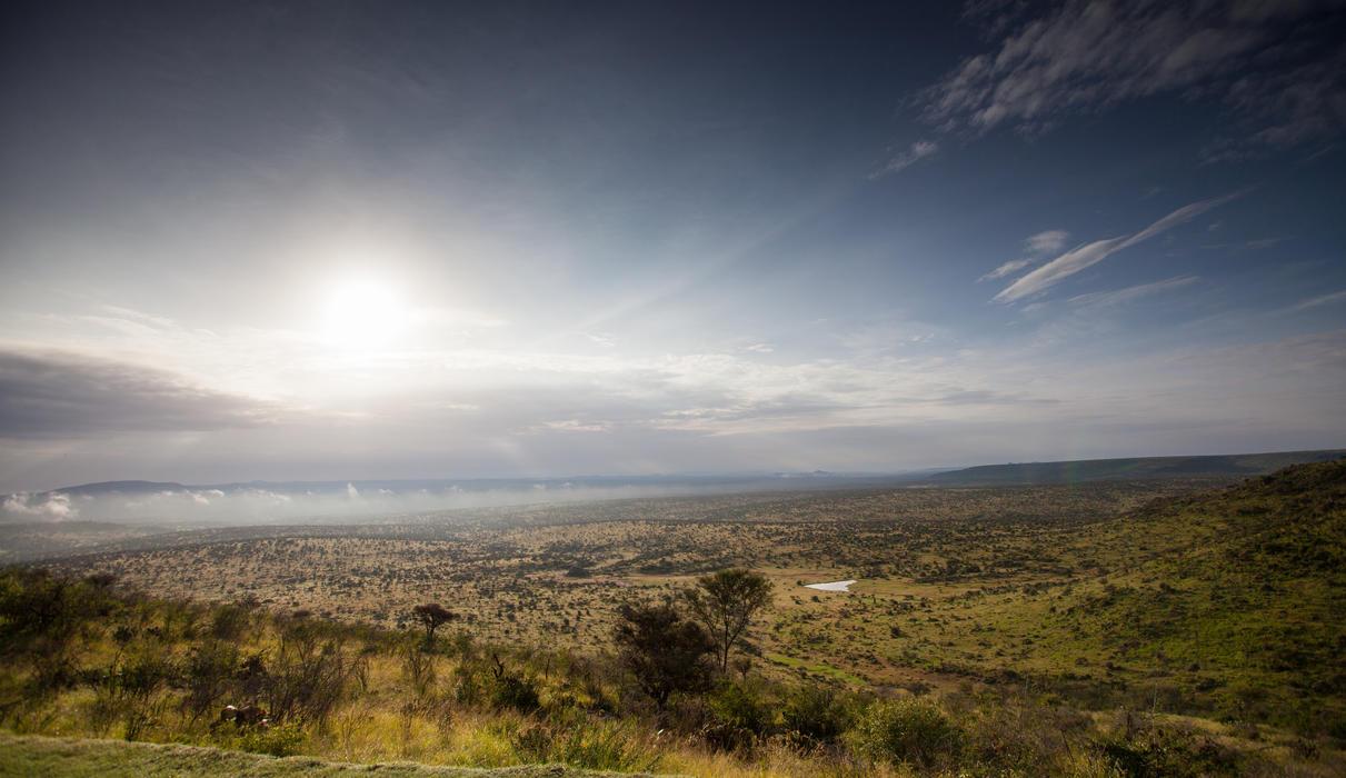 Expansive views across the Laikipia landscape
