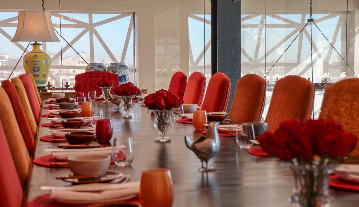 The Wisdom Room is The Silo Hotel's Private Dining Room