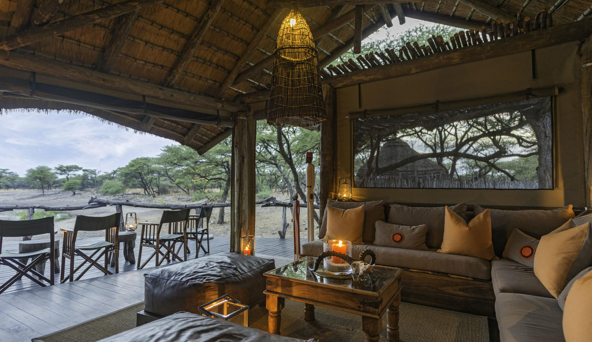 Guest areas at Onguma Tree Top