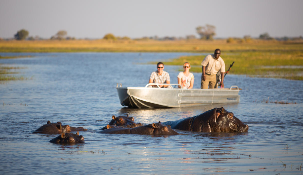Hippo pools boating