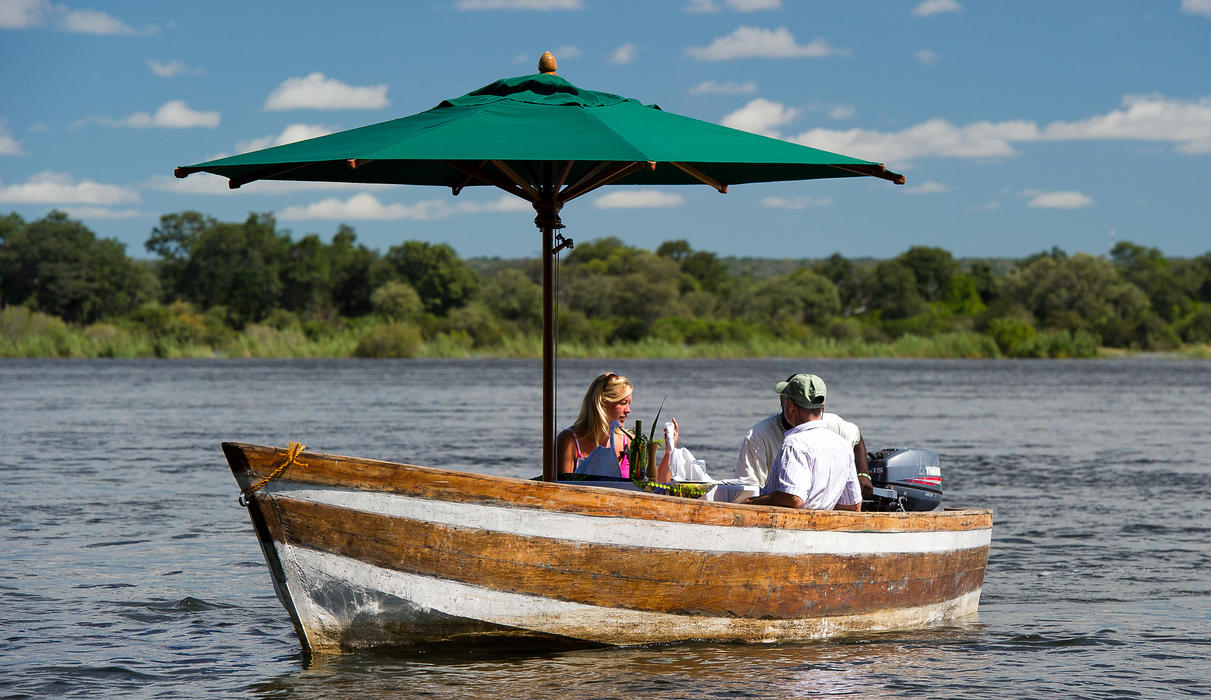 Set off on a little adventure on the Zambezi