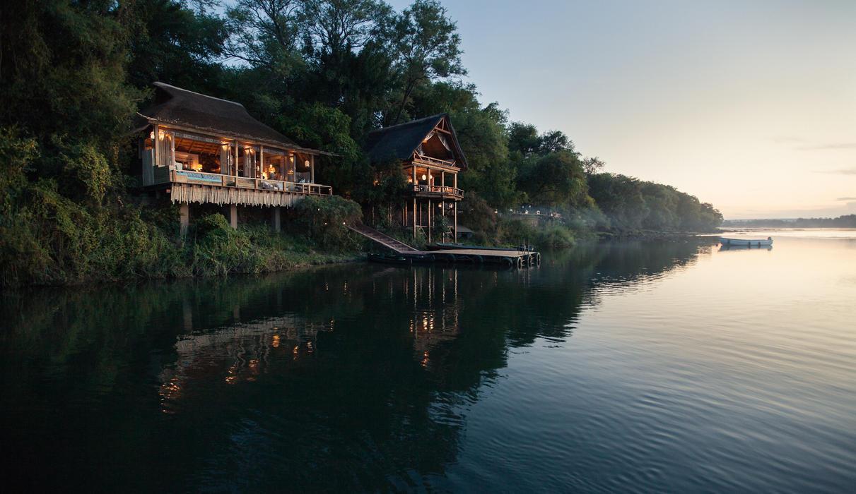 From the Zambezi River...