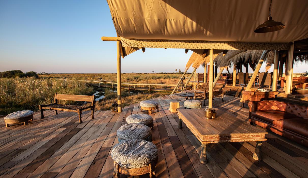 Selinda Camp Deck Views