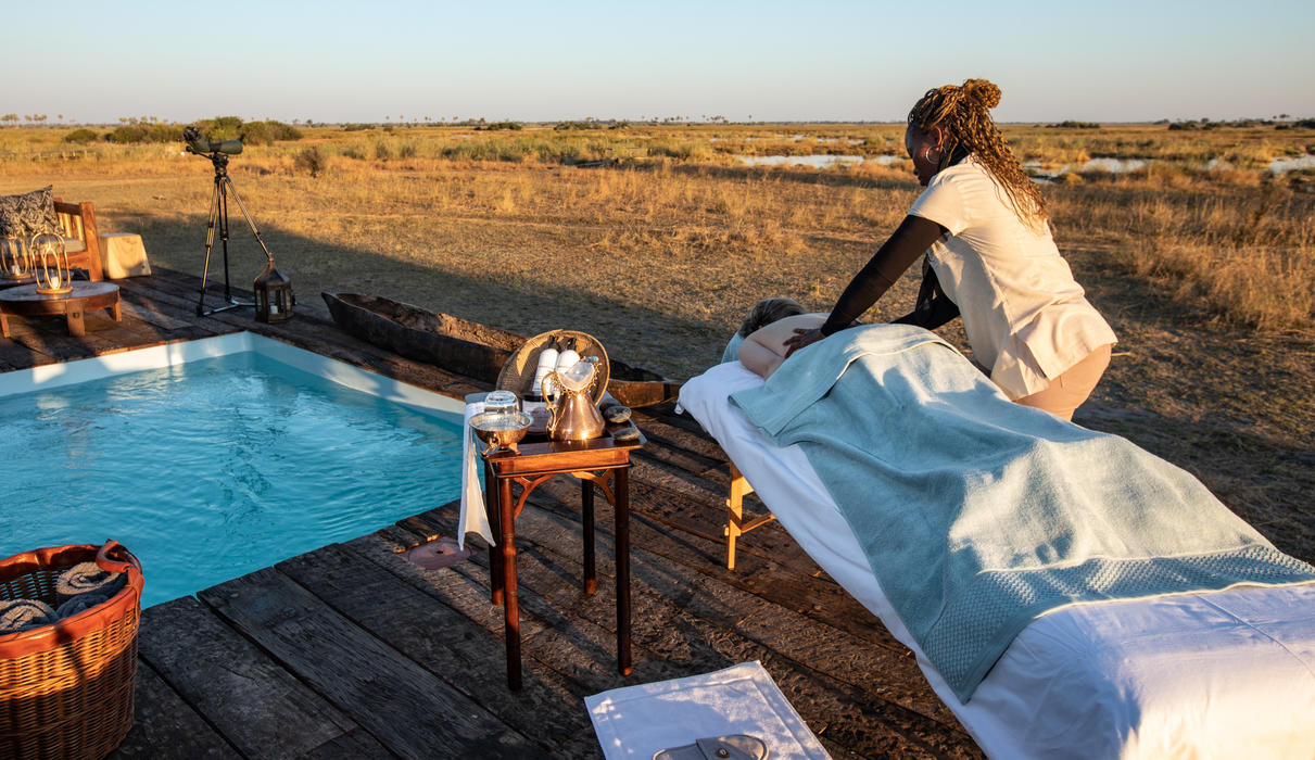 Massage at Selinda Camp