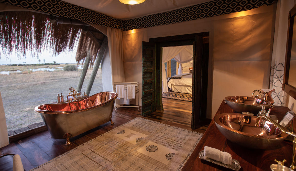 Selinda Camp Bathroom