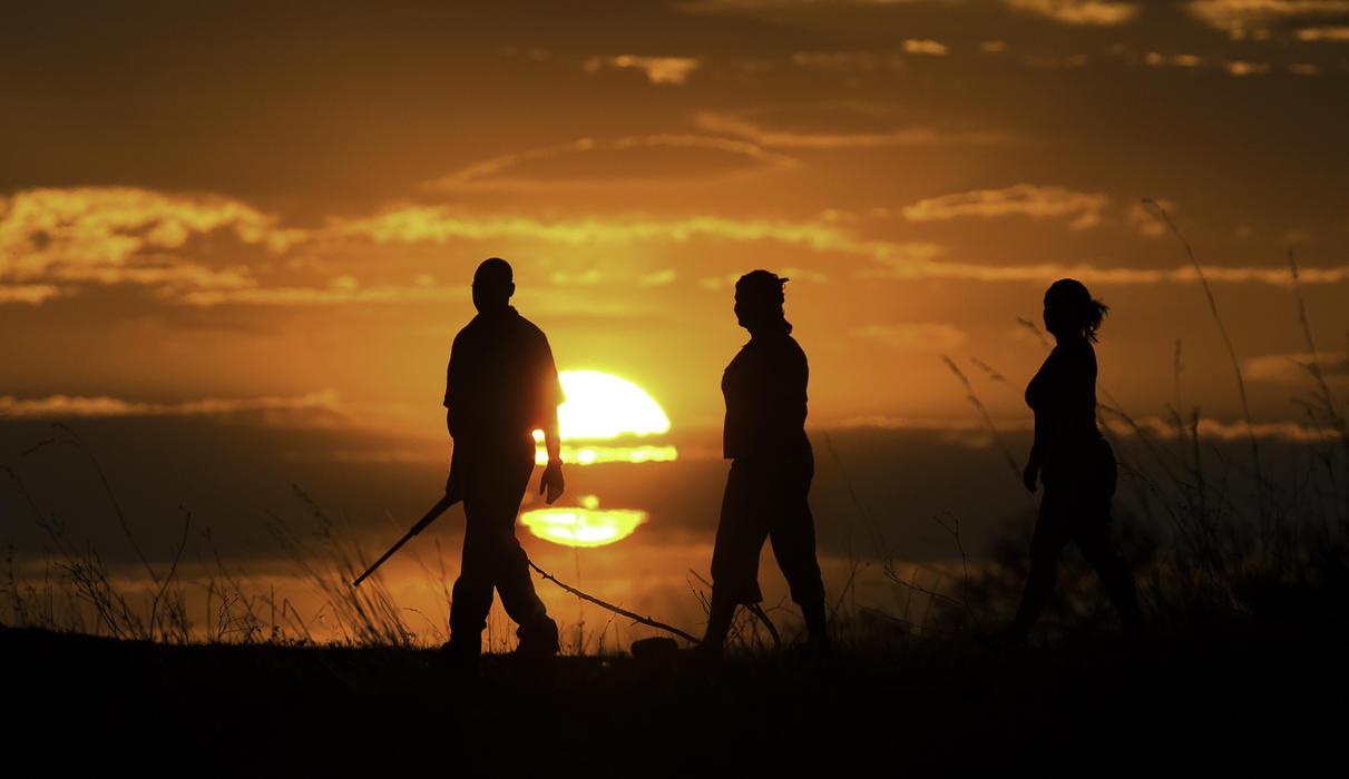 Bush Walks at Selinda Camp