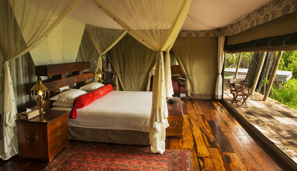 Zarafa Tent Interior