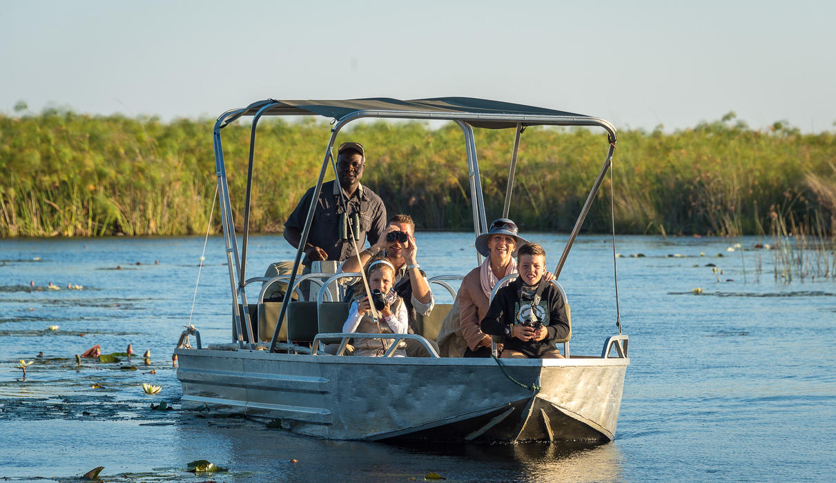 Unforgettable family safari at Little Vumbura
