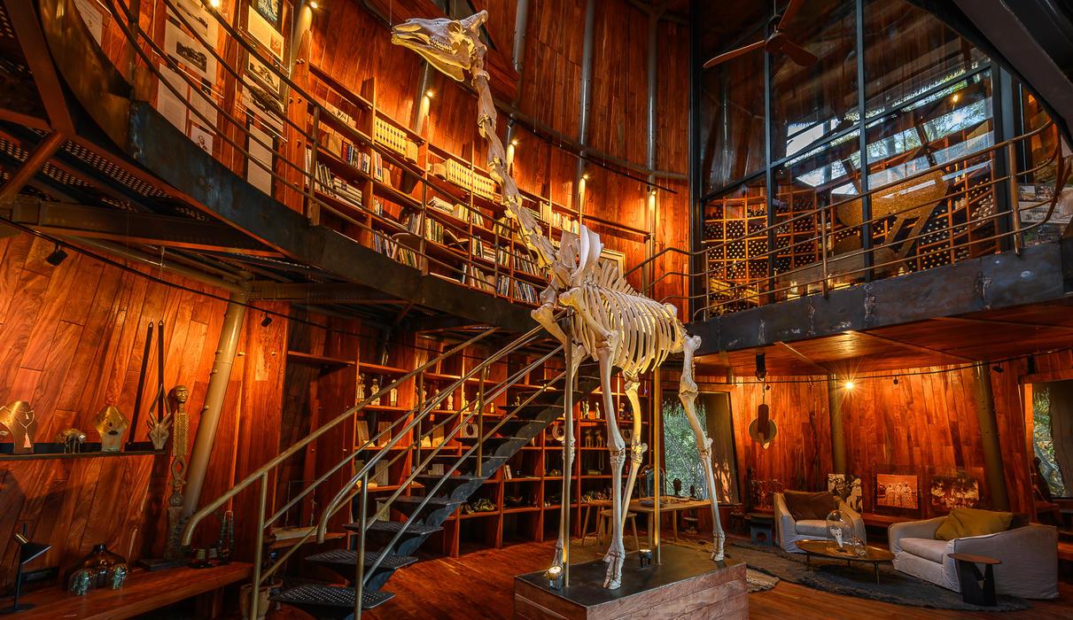 Museum and curio shop