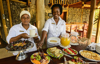 Rhino Post Safari Lodge - High Tea
