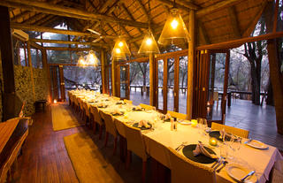 Rhino Post Safari Lodge - Dining Room