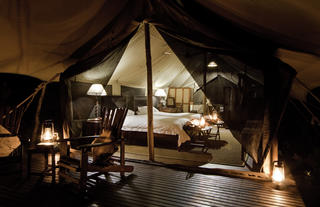 Plains Camp Bedroom