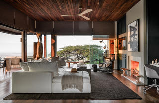 Hillside Suite at Singita Sasakwa Lodge