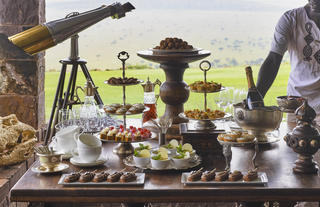 Singita Sasakwa Lodge - High Tea