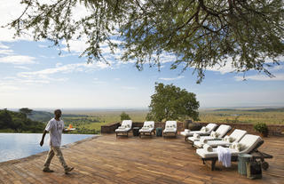Singita Sasakwa Lodge - Poolside