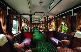 The Events Train lounge cars