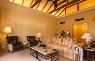 Hemingways Nairobi Blixen Suite Lounge Area
