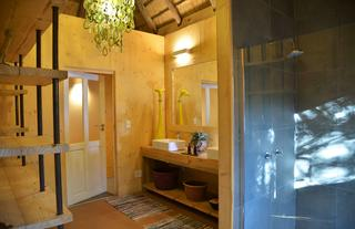 Treetop Chalet - Indoor Shower & bathroom