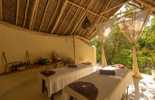 Couple treatment room at the Spa