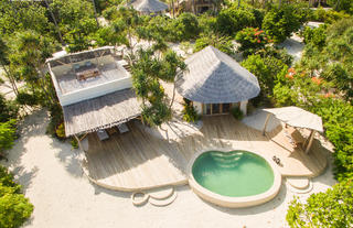2- Beachfront One-bedroom villa