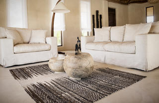 Living room in a luxury vila