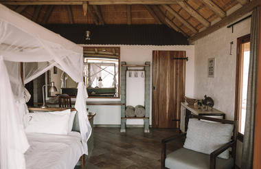 inside guest room