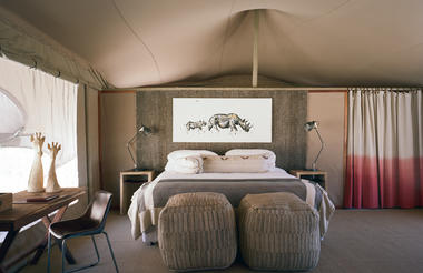 Hoanib Valley Camp - Double/ Twin Tent