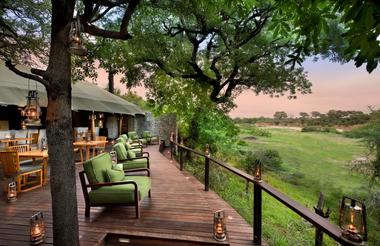 Ngala Tented Camp Deck
