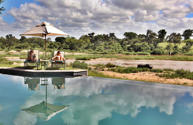 One need not to leave the camp to enjoy Africa's most spectacular wildlife!