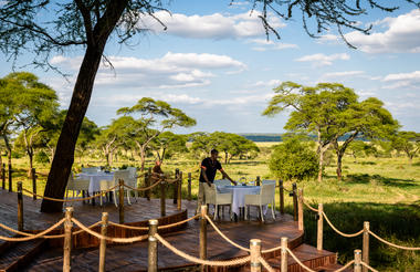 Sanctuary Swala dining deck