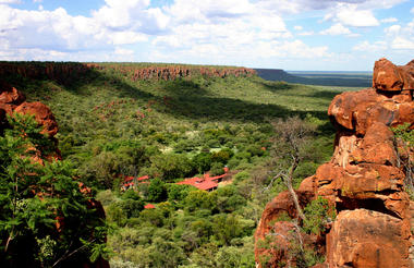 Waterberg Wilderness Lodge - Situated in the valley