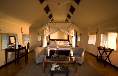 Gorah Elephant Camp Tent Interior