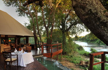 Hamiltons Tented Camp - Dining