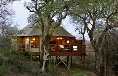 Hamiltons Tented Camp - Suite Exterior