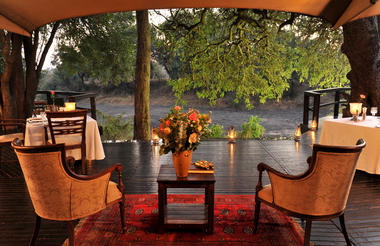 Hamiltons Tented Camp - View