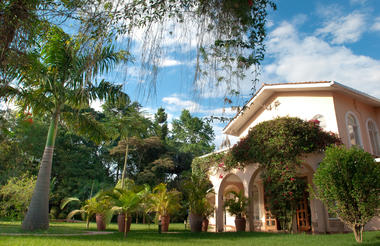 Our lush gardens at House of Waine welcome you