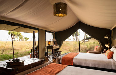 Accommodation tent